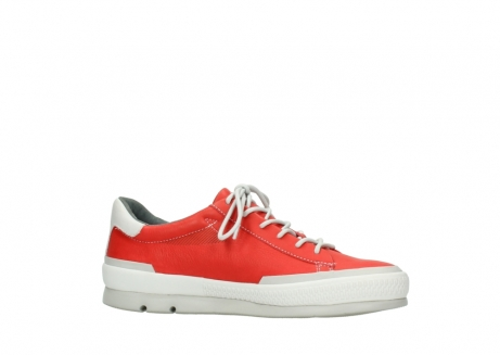 wolky lace up shoes 01926 katla 30500 red leather_14