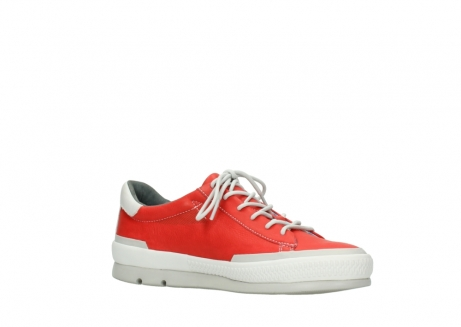 wolky lace up shoes 01926 katla 30500 red leather_15