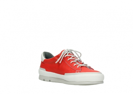wolky lace up shoes 01926 katla 30500 red leather_16