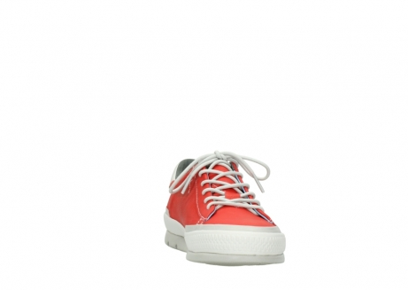 wolky lace up shoes 01926 katla 30500 red leather_18