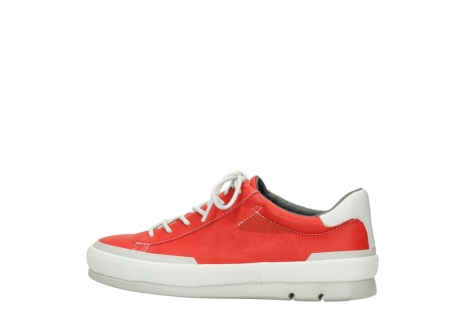 wolky lace up shoes 01926 katla 30500 red leather_2