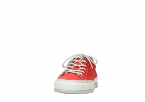 wolky lace up shoes 01926 katla 30500 red leather_20