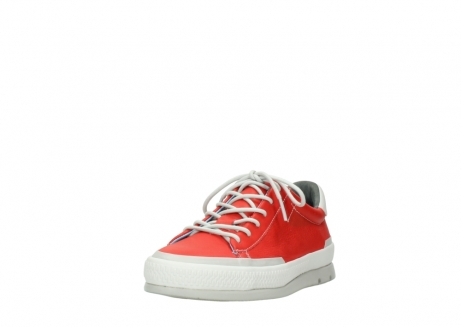 wolky lace up shoes 01926 katla 30500 red leather_21