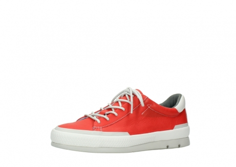 wolky lace up shoes 01926 katla 30500 red leather_23