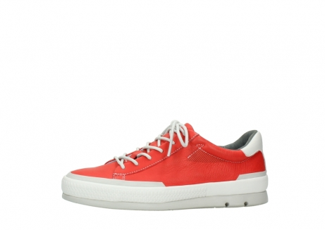 wolky lace up shoes 01926 katla 30500 red leather_24