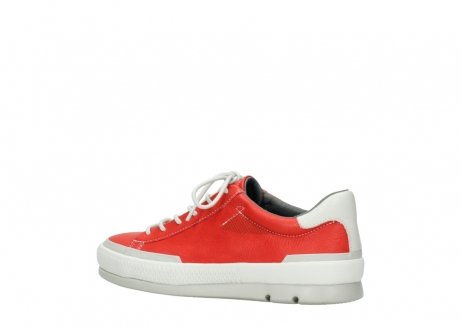 wolky lace up shoes 01926 katla 30500 red leather_3
