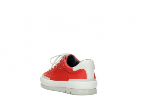 wolky lace up shoes 01926 katla 30500 red leather_5