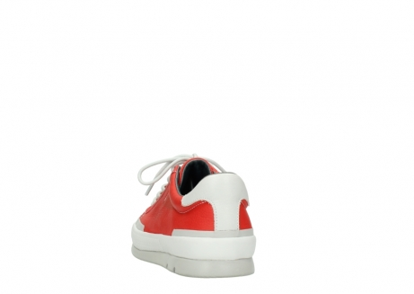 wolky lace up shoes 01926 katla 30500 red leather_6