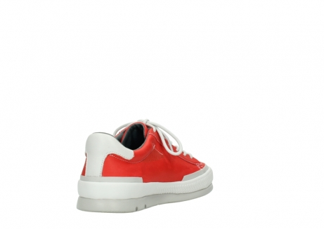 wolky lace up shoes 01926 katla 30500 red leather_9
