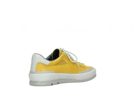 wolky lace up shoes 01926 katla 30900 yellow leather_10