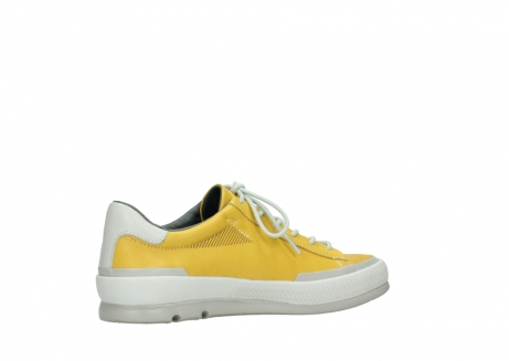 wolky lace up shoes 01926 katla 30900 yellow leather_11