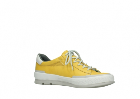 wolky lace up shoes 01926 katla 30900 yellow leather_15