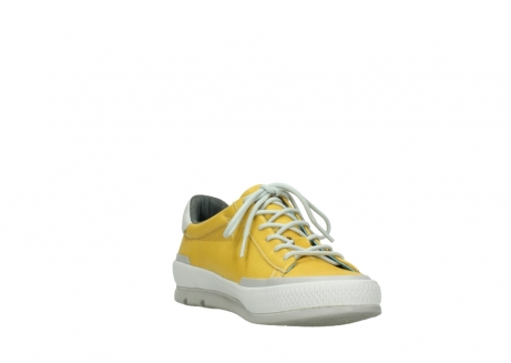 wolky lace up shoes 01926 katla 30900 yellow leather_17