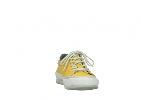 wolky lace up shoes 01926 katla 30900 yellow leather_18