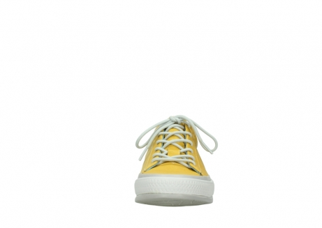 wolky lace up shoes 01926 katla 30900 yellow leather_19