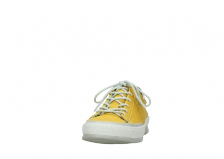 wolky lace up shoes 01926 katla 30900 yellow leather_20