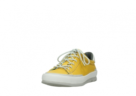 wolky lace up shoes 01926 katla 30900 yellow leather_21
