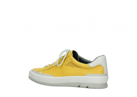 wolky lace up shoes 01926 katla 30900 yellow leather_3