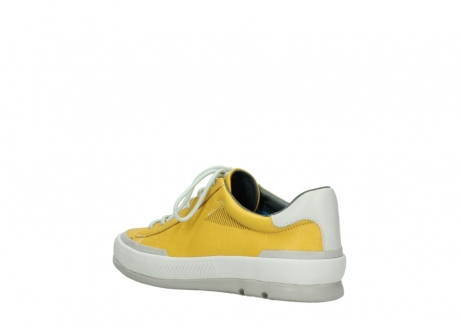 wolky lace up shoes 01926 katla 30900 yellow leather_4