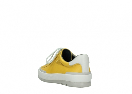 wolky lace up shoes 01926 katla 30900 yellow leather_5