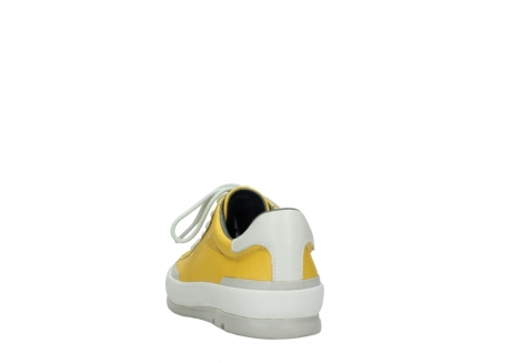 wolky lace up shoes 01926 katla 30900 yellow leather_6
