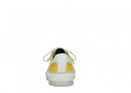 wolky lace up shoes 01926 katla 30900 yellow leather_7