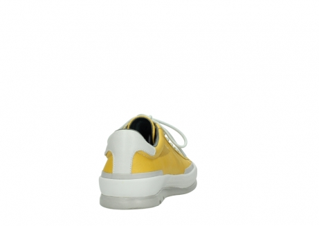 wolky lace up shoes 01926 katla 30900 yellow leather_8