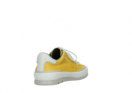 wolky lace up shoes 01926 katla 30900 yellow leather_9