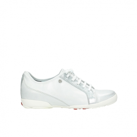 wolky chaussures a lacets 02025 calama 30130 cuir argent