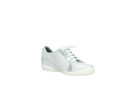 wolky chaussures a lacets 02025 calama 30130 cuir argent_16