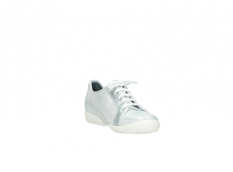 wolky chaussures a lacets 02025 calama 30130 cuir argent_17