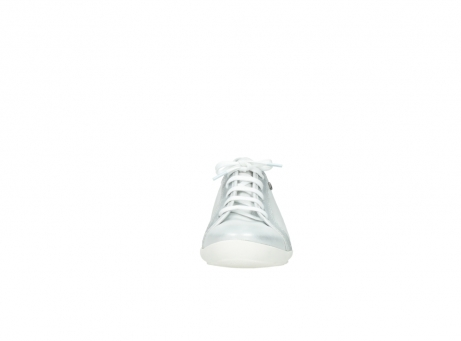 wolky lace up shoes 02025 calama 30130 silver leather_19