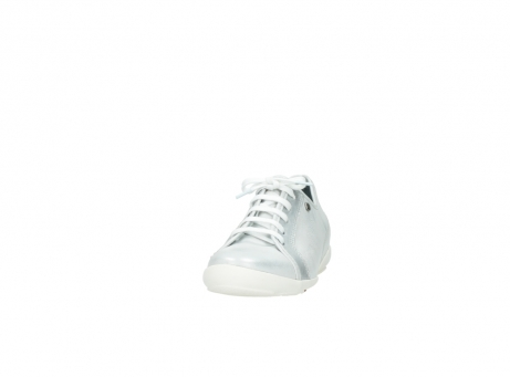wolky lace up shoes 02025 calama 30130 silver leather_20