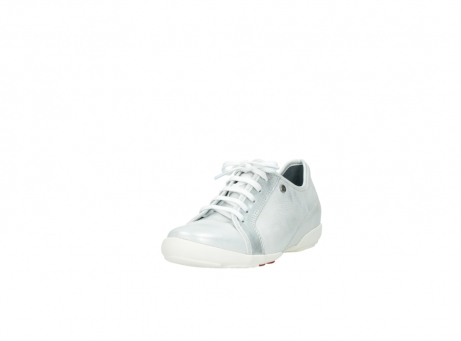 wolky chaussures a lacets 02025 calama 30130 cuir argent_21