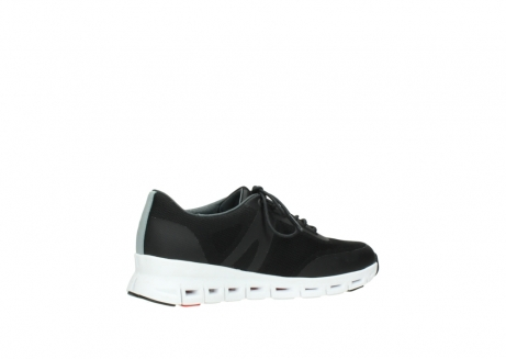 wolky lace up shoes 02050 nano 90000 black mesh upper_11