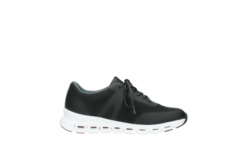 wolky lace up shoes 02050 nano 90000 black mesh upper_13
