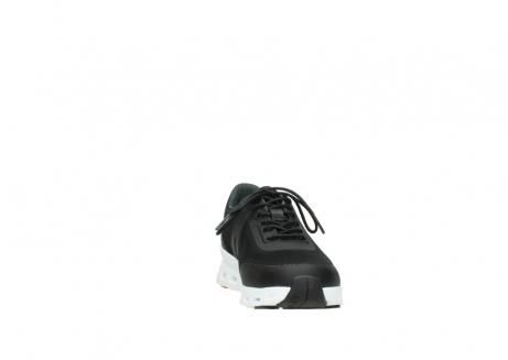 wolky lace up shoes 02050 nano 90000 black mesh upper_18