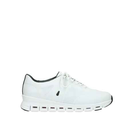 wolky lace up shoes 02050 nano 90100 white mesh upper
