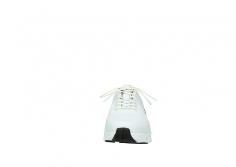 wolky lace up shoes 02050 nano 90100 white mesh upper_19