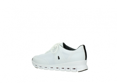 wolky lace up shoes 02050 nano 90100 white mesh upper_3