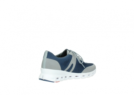 wolky lace up shoes 02050 nano 90820 denim grey mesh upper_10