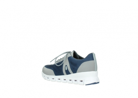 wolky lace up shoes 02050 nano 90820 denim grey mesh upper_4