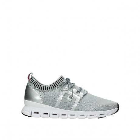 wolky lace up shoes 02052 tera 90201 silver grey leather