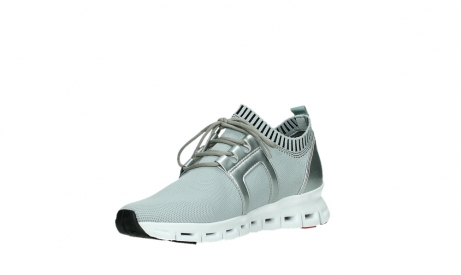 wolky lace up shoes 02052 tera 90201 silver grey leather_10