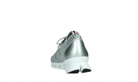 wolky lace up shoes 02052 tera 90201 silver grey leather_18