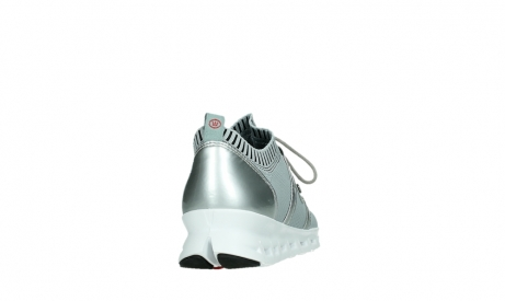 wolky lace up shoes 02052 tera 90201 silver grey leather_20