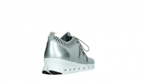 wolky lace up shoes 02052 tera 90201 silver grey leather_21