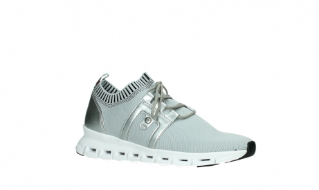 wolky lace up shoes 02052 tera 90201 silver grey leather_3
