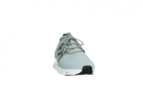 wolky lace up shoes 02052 tera 90201 silver grey leather_6