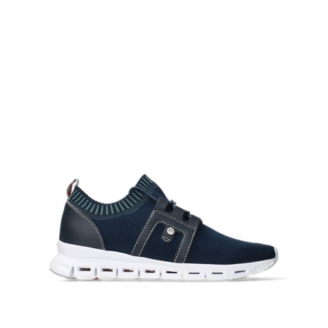 wolky lace up shoes 02052 tera 90800 blue knitting